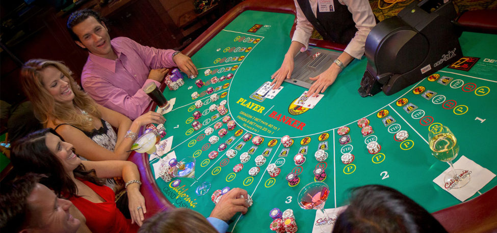 Learn to play the Baccarat
