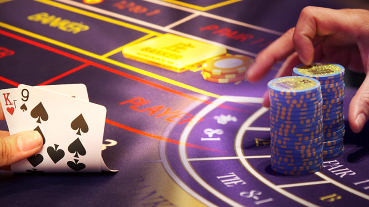 Basic rules for baccarat